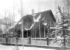 The Captain C.J. Armstrong home in Golden.