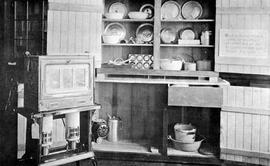Display Of Equipment Used In Rural Schools For Lessons On The Hot Lunch