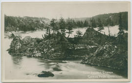 """Fort George Canyon, Canoe Pass."""