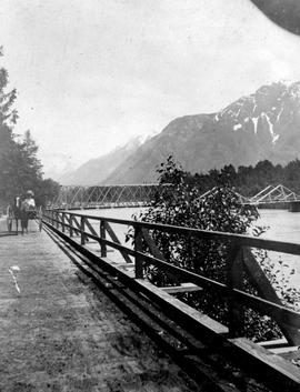 Bridge across Lillooet River.