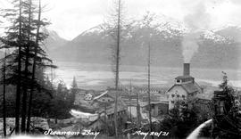 """Swanson Bay""; pulp and paper mill."