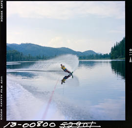 Waterskiing At Moyie Lake