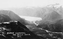 """Burke Channel and Bella Coola, BC."""