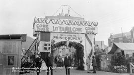 """Arch - Dominion Day Celebrations, 1909, Prince Rupert"""