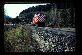 Canadian Pacific Railway Passenger Train, Rogers Pass