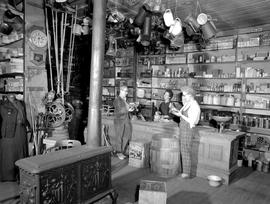 Barkerville Interior Of The General Store
