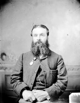 Charles E. Redfern, Mayor of Victoria, 1883, and 1887-1899.