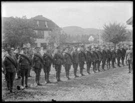 Troops at Vernon