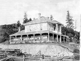 The D. W. Miller home, in Sumas.