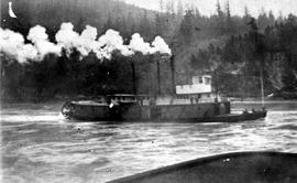 Sternwheeler Near Hope