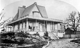 "[Francis Jones Barnard's residence, the ""Duvals"" on Rockland Avenue, Victoria.]"