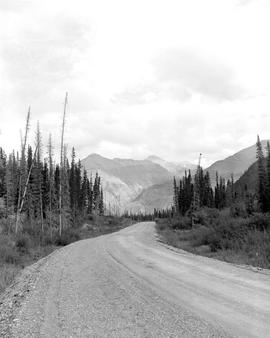 Alaska Highway, Mile 440.4 Looking East