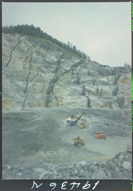 Mining, Tasu Queen Charlotte Islands Pit