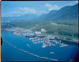Aerial, Fisherman's Co-Op Cannery, Prince Rupert