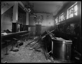 The Bar at the Blanshard Hotel following the Lusitania Riot