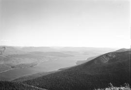 Quesnel Lake survey photograph