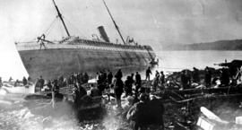 The SS Mariposa wrecked near Bella Bella.