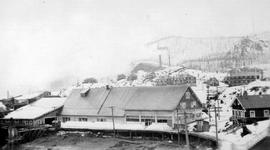 Back of the Granby General Store, Anyox B.C.