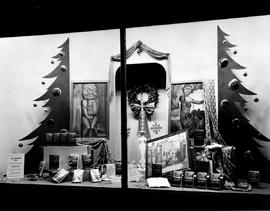 "Window display in book department of department store, Toronto, for Emily Carr's ""Klee ..."