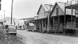 Kelly's Store and Hotel, Barkerville.