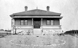 The Henry Classon Courtney residence at Rockland Avenue and Cook Street, Victoria.