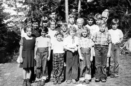 1955 Class Picture Nelson Island School