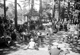 "A ""Cheer Up Concert"" in Beacon Hill Park, Victoria"