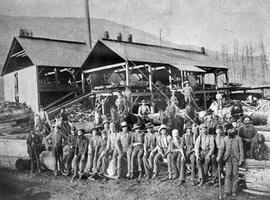Workers At Robinson Mill; Revelstoke.