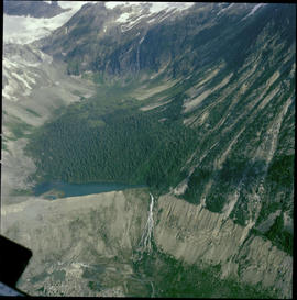 Aerial, Glacier National Park