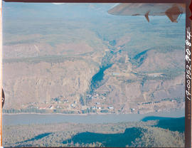 Aerial Telegraph Creek And Stikine River