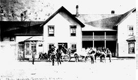 Stagecoach at Spences Bridge Hotel