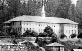 """Indian School, Sechelt, BC""."