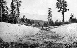 Construction Of Kootenay Canal At Canal Flats