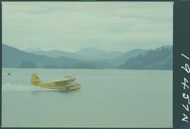 Seaplane, Skidegate Inlet, Queen Charlotte Islands
