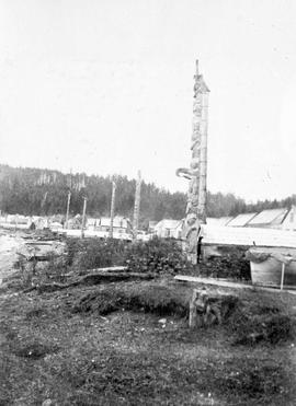 Queen Charlotte Islands Skidegate Totems