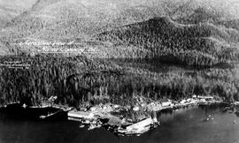 Aerial Of The Fish Cannery At Namu