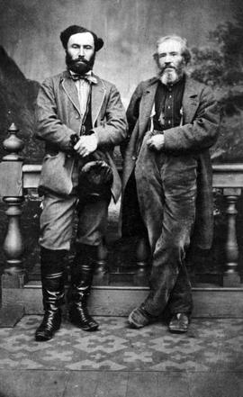 William Morrison on the left and Archibald McKinley on the right.