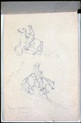 Sketch 4: Cowboys, Rogers Pass.