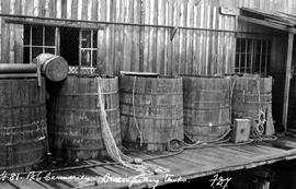 Richmond; BC Canneries; Disinfecting Tanks