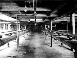"""Concentrator conveyor belts (concentrates to cars) CMS Co. concentrator, Kimberley, BC."""