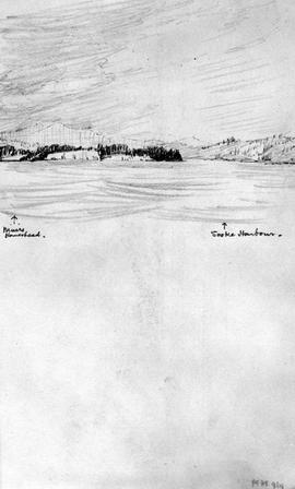 Muirs Homestead - Sooke Harbour [View Towards Sooke Area From Straits]