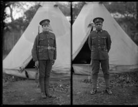 Portraits of Siberian Expeditionary Force soldiers