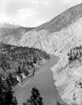 Thompson River 2.5 Miles East Of Lytton