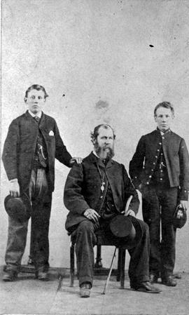 Captain William Hales Franklyn and sons.