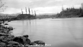 Junction of the Telkwa and Bulkley River.