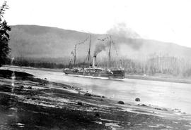 The SS Athenian Entering Vancouver