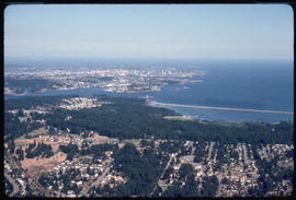 Aerial of Victoria from Langford.