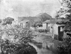 [Canton, China]  11.  View of the Canal approaching Howqua's from one of the top windows in ...