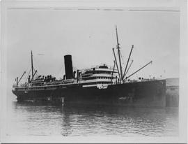 SS Makura at Vancouver Harbour