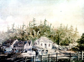 Achaineach, home of Captain W.C. Grant at Sooke.